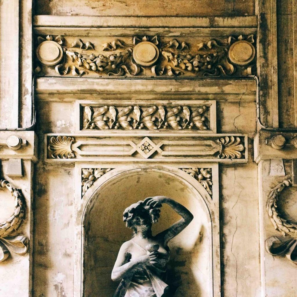 Via Tigor 12 a Trieste decorazione liberty del palazzo