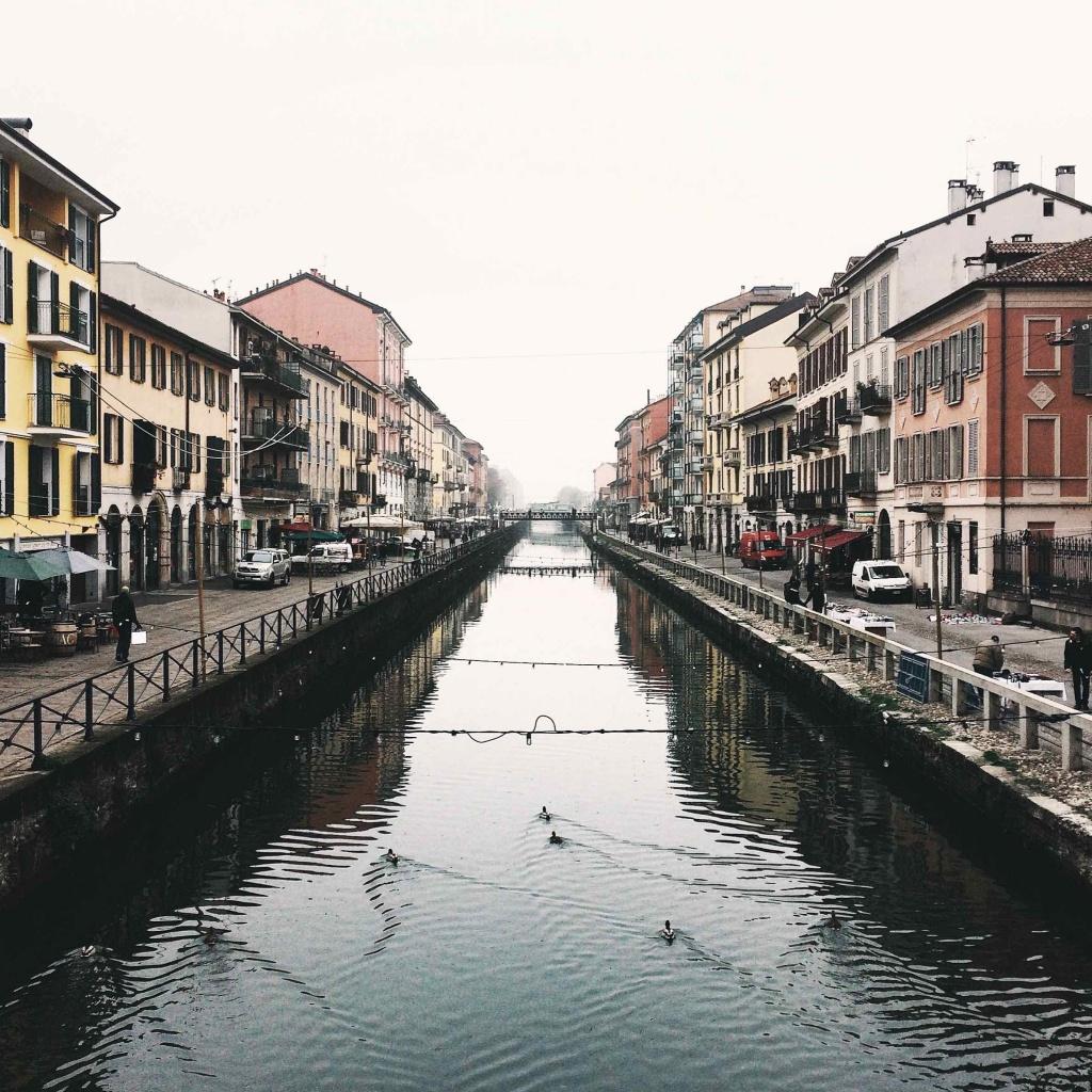 i luoghi più instagrammati di Milano: il Naviglio Grande