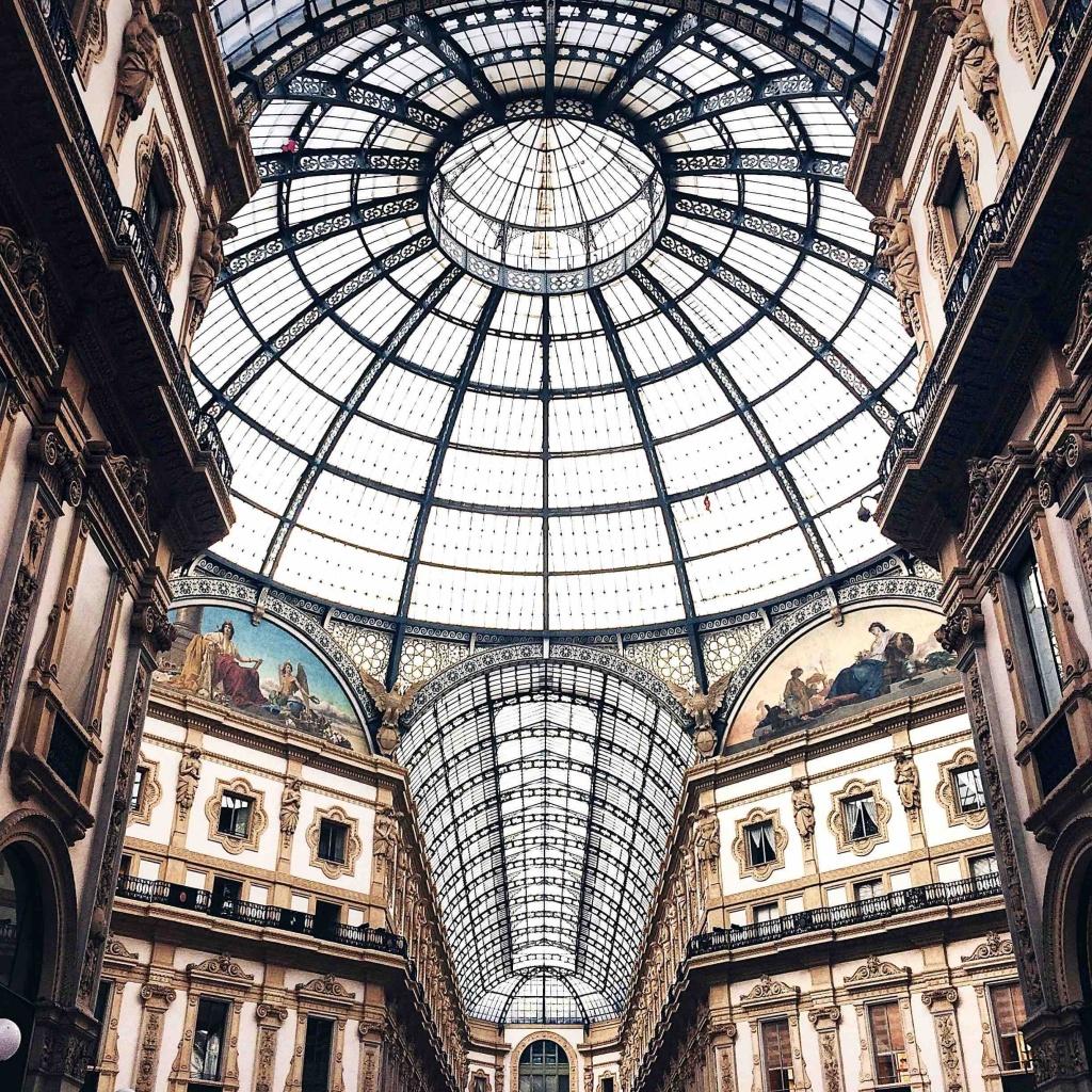 i luoghi più instagrammati di Milano: la Galleria Vittorio Emanuele