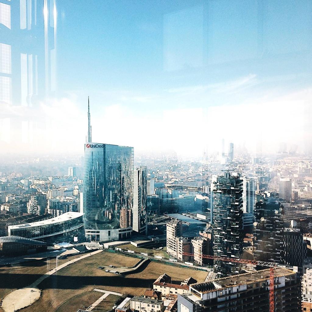 i luoghi più instagrammati di Milano: la vista dal Palazzo della Regione Lombardia