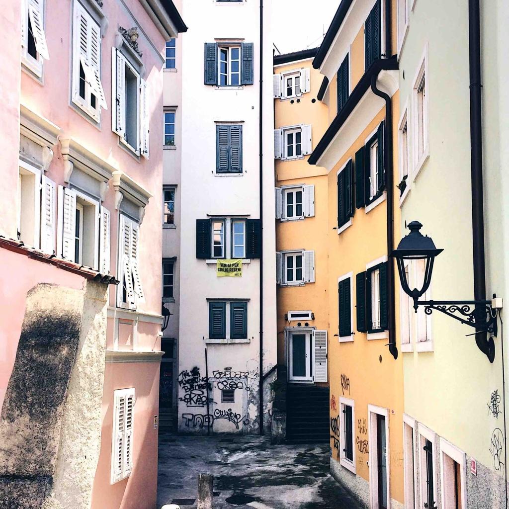 Trieste Nascosta: Le casette di Piazzatta Tauner