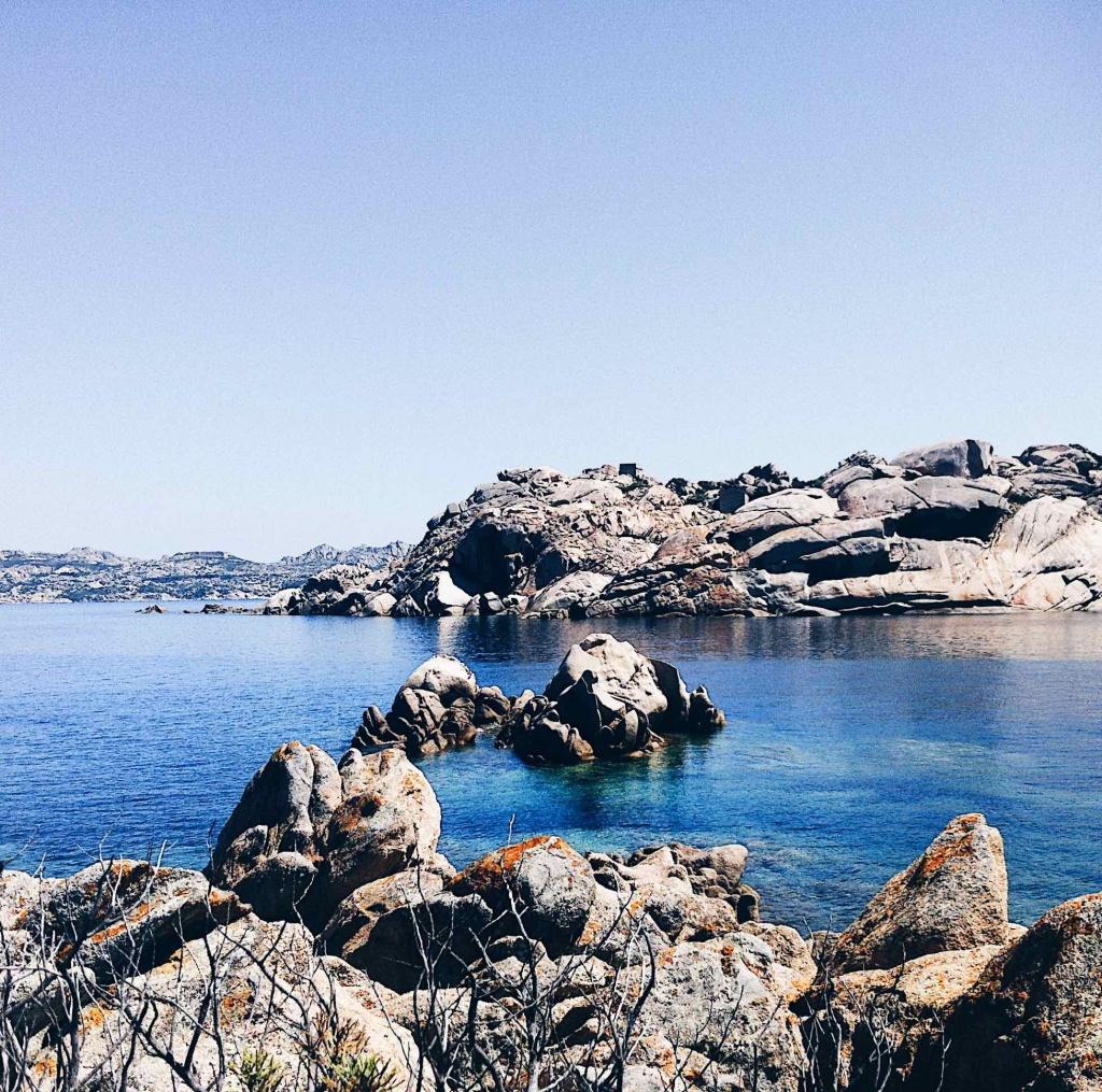 Fotografie al mare: Cala Coticcio a Caprera