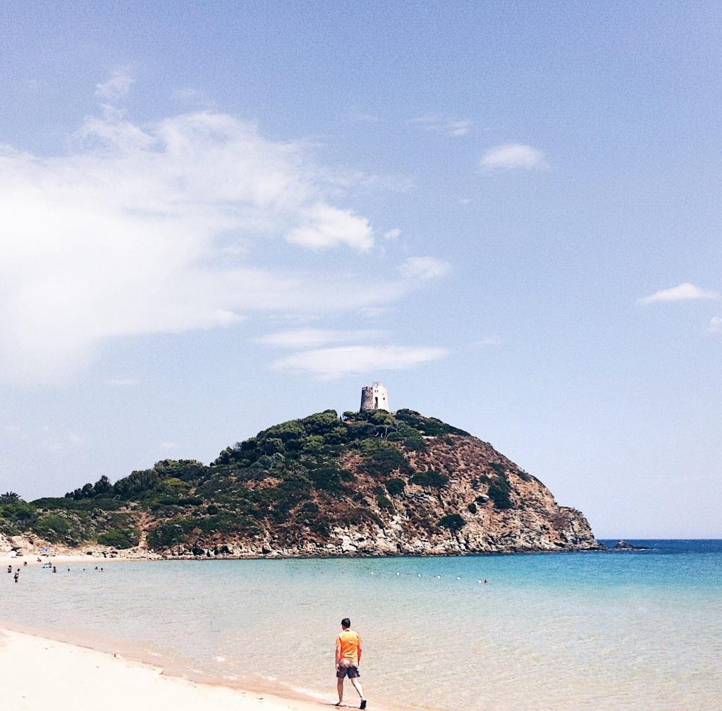 Fotografie al mare: la spiaggia di Chia