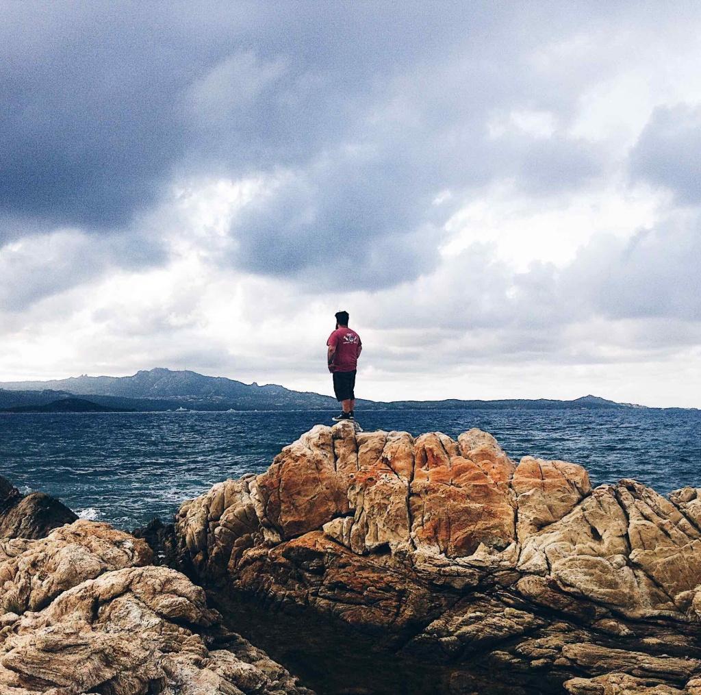 Fotografie al mare: Porto Cervo in un giorno di tempesta