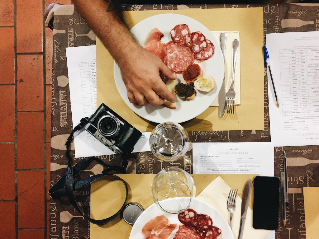 Tour del Chianti a pranzo nell'Azienda Agricola Poggio Amorelli