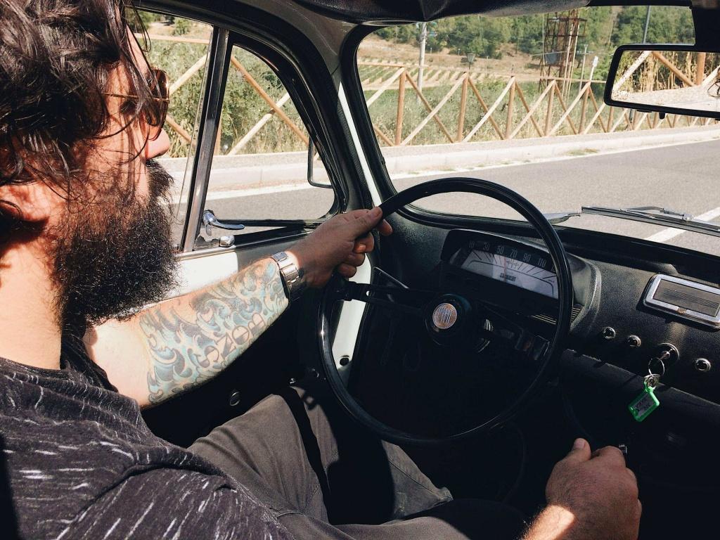 Tour del Chianti alla guida della 500