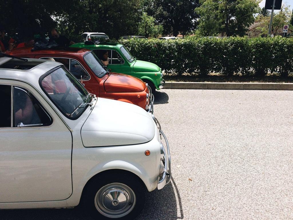 Tour del Chianti la partenza
