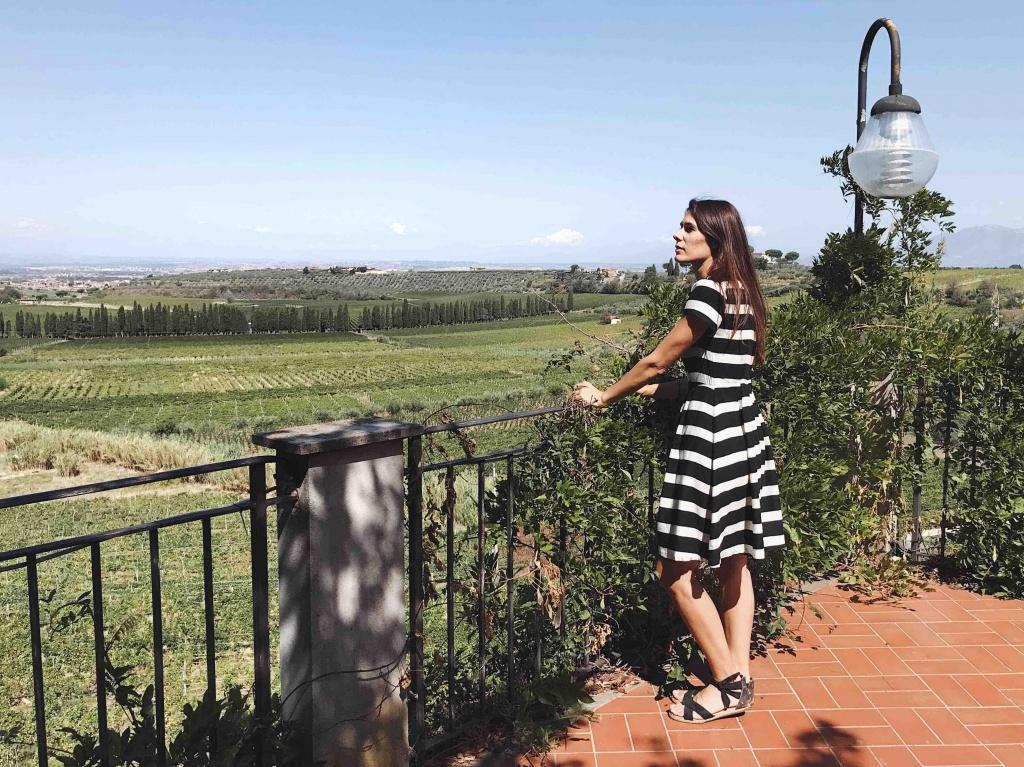 Merumalia Wine Resort il panorama sulla città