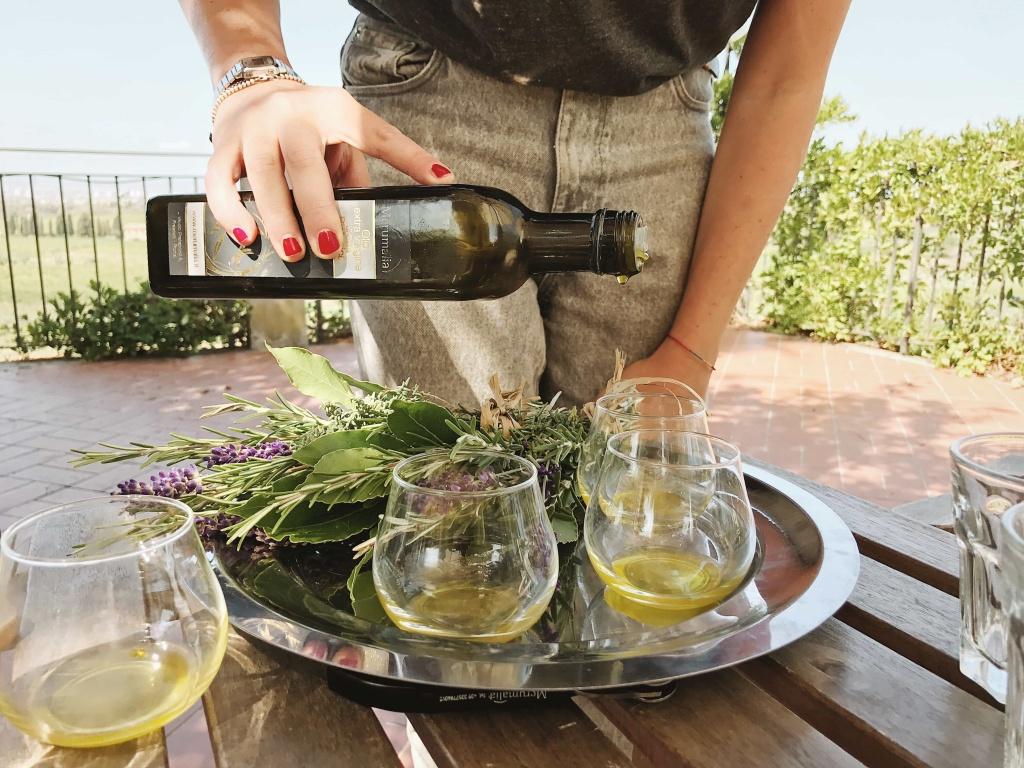 Merumalia Wine Resort degustazione di olio extra vergine d'oliva