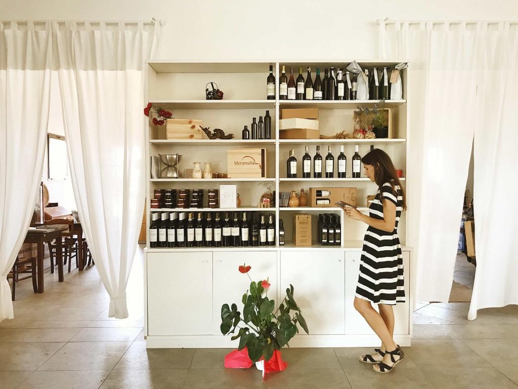 Merumalia Wine Resort i vini