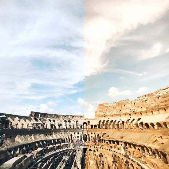 Come editare le foto per Instagram: toni freddi e toni caldi