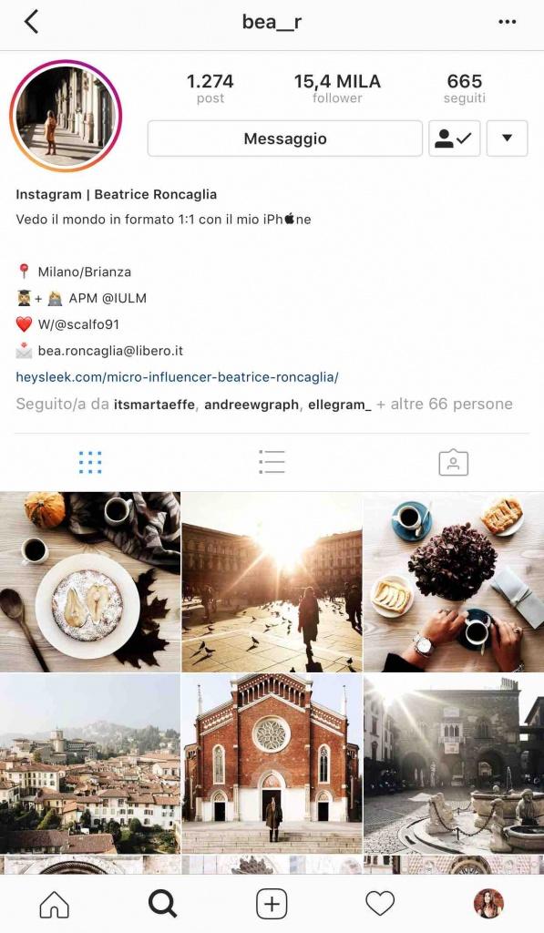 9 instagramers italiane: @bea__r