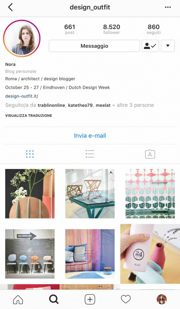 9 instagramers italiane: @design_outfit