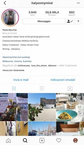 9 instagramers italiane: @italyonmymind