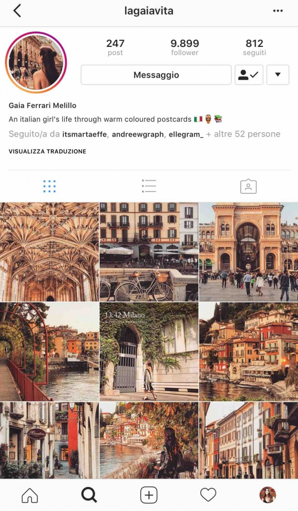 9 instagramers italiane: @lagaiavita