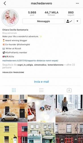 9 instagramers italiane: @machedavvero