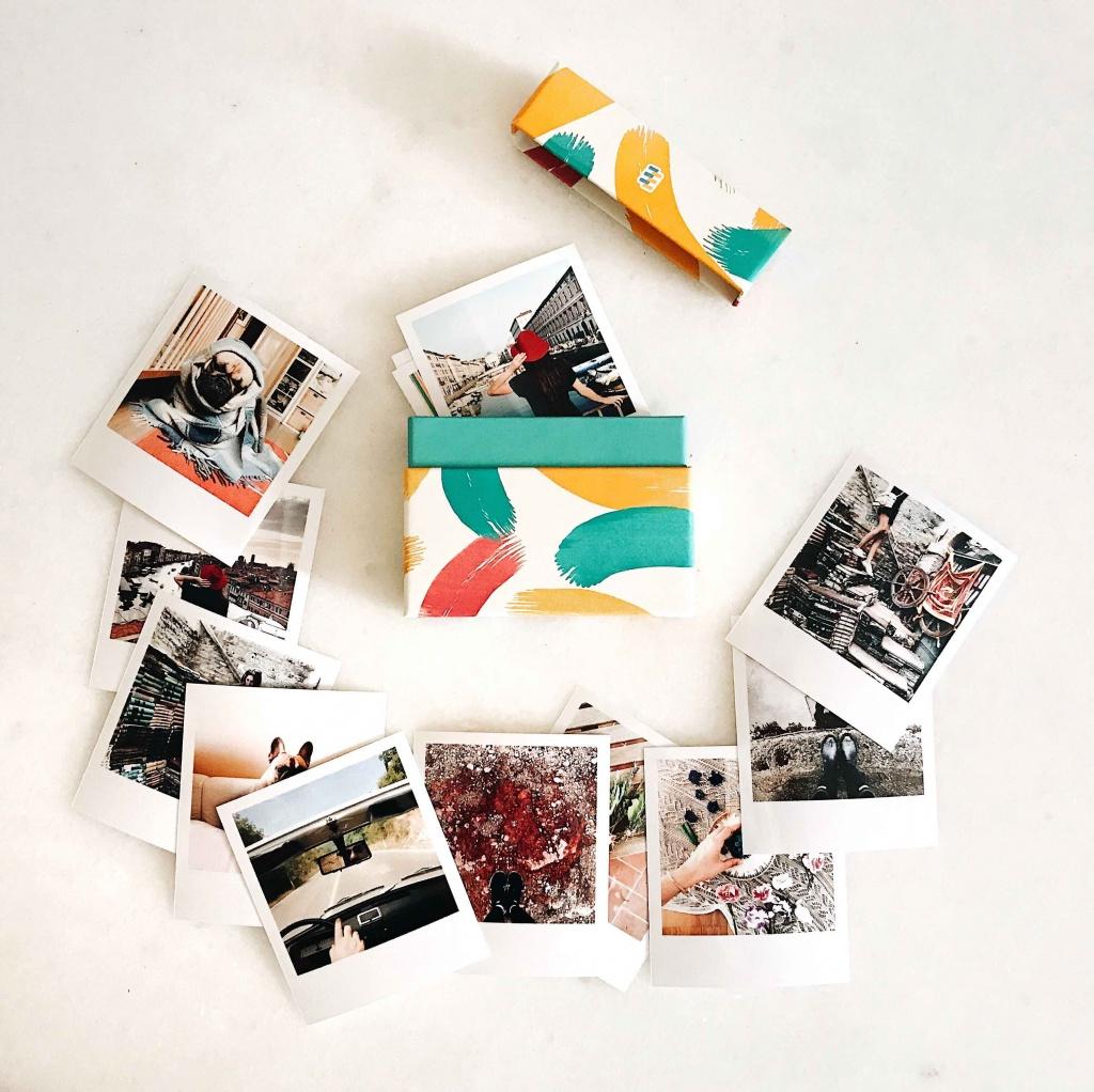 Box di 40 foto Cheerz