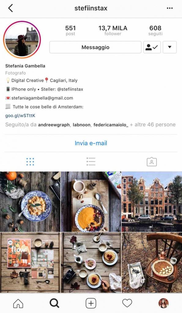 9 instagramers italiane: @stefiinstax