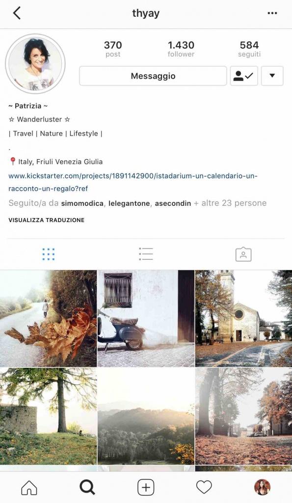 9 instagramers italiane: @thyay