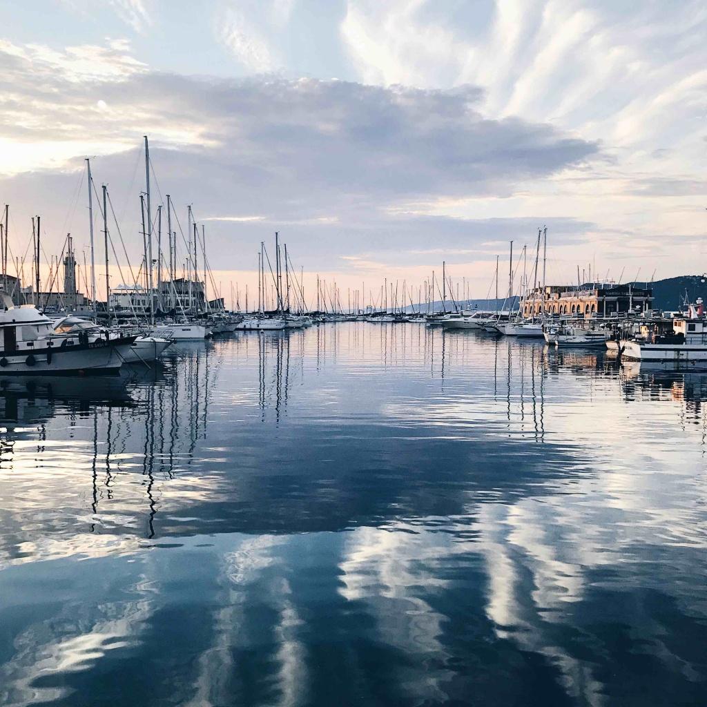 10 luoghi speciali a Trieste: tramonto da Eataly