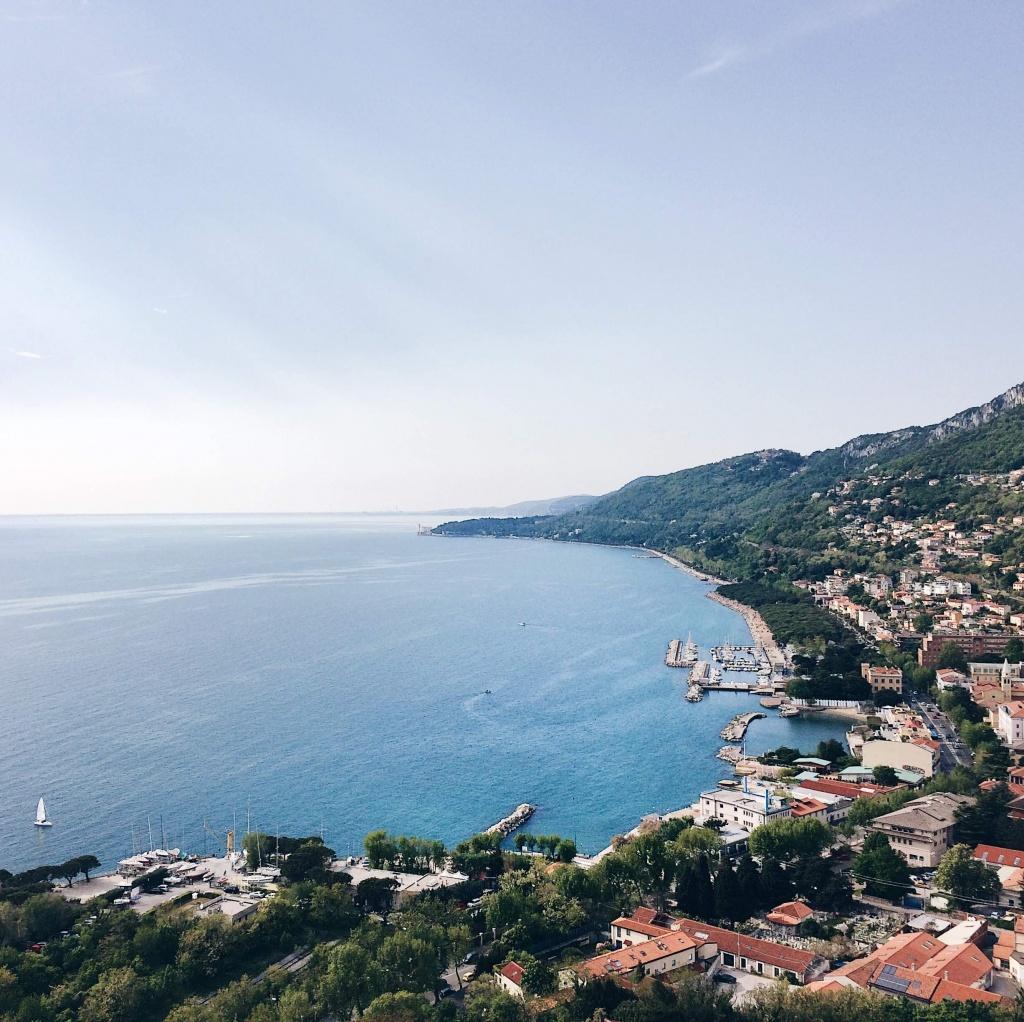 10 luoghi speciali a Trieste: panorama dal Faro
