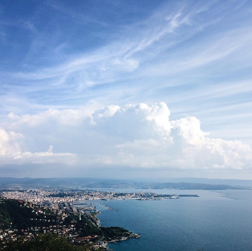 10 luoghi speciali a Trieste: panorama da Monte Grisa