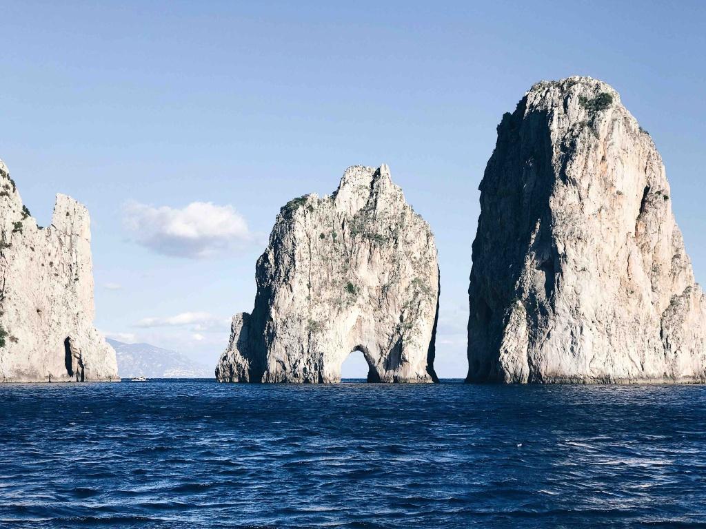 Tour di Capri in Autunno: l'arco dell'amore