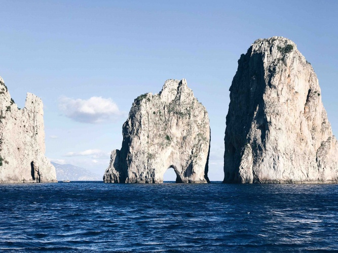 Tour di Capri in Autunno: l'arco dell'amore