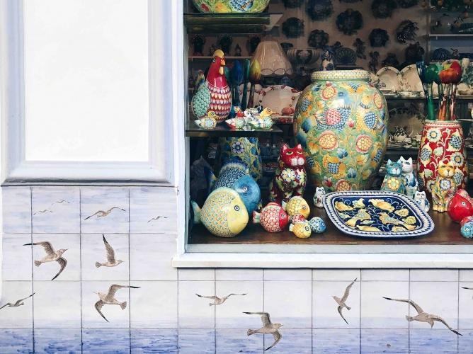 Tour di Capri in Autunno: le ceramiche
