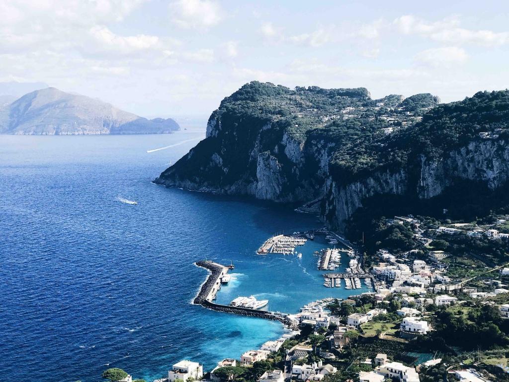 Tour di Capri in Autunno: vista panoramiche dalla strada che porta ad Anacapri