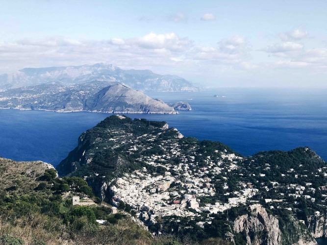 Tour di Capri in Autunno: la vista dal Monte Solaro