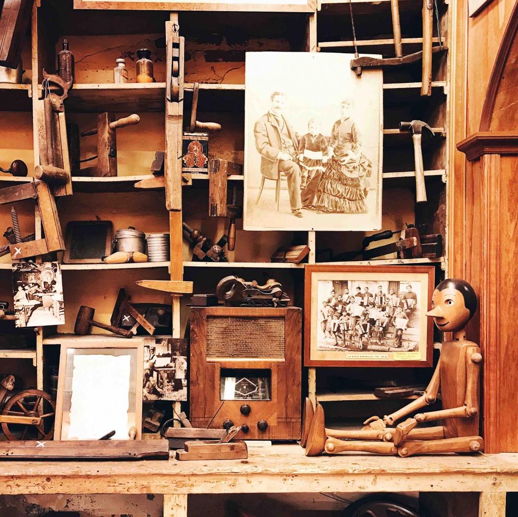 Itinerario alternativo a Firenze: nel negozio di giocattoli Bartolucci la bottega di Pinocchio