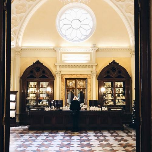 Itinerario alternativo a Firenze: Farmaceutica