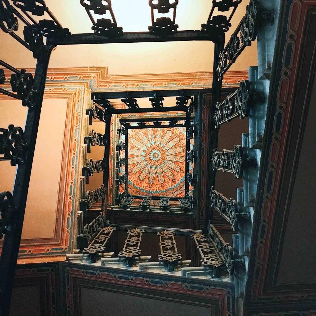 Itinerario alternativo a Firenze: scala a chiocciola della Sinagoga di Firenze