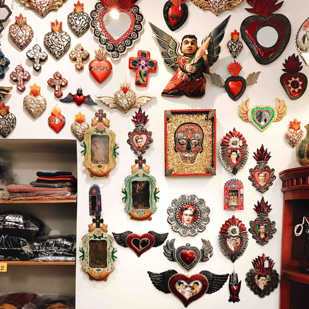 Ghetto ebraico di Roma: la Casa di Frida il negozio di souvenir messicani