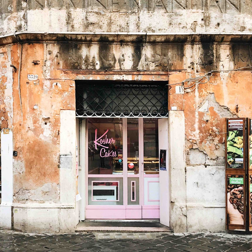 Ghetto ebraico di Roma: le pasticcerie Kosher