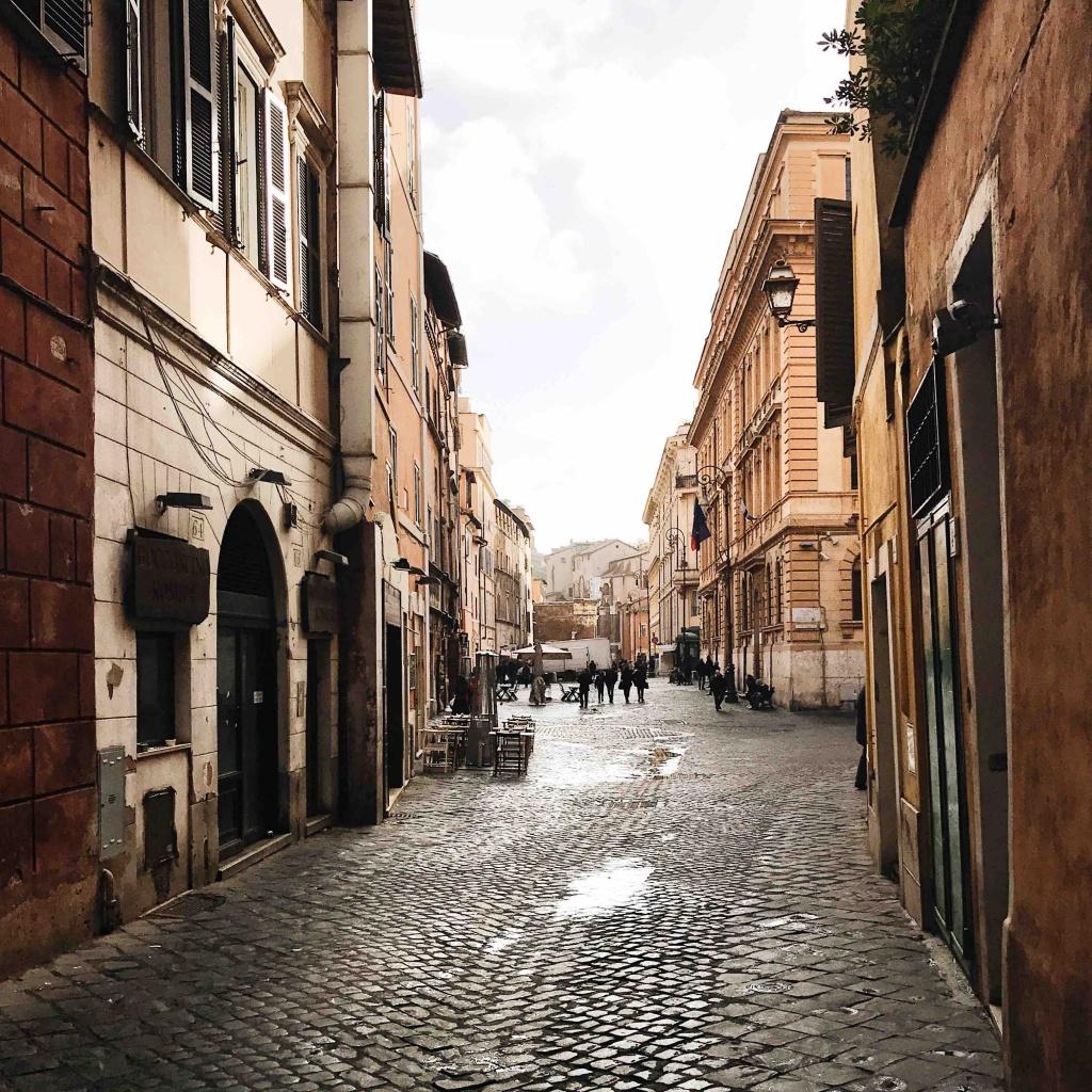 Ghetto ebraico di Roma: Via del Portico d'Ottavia