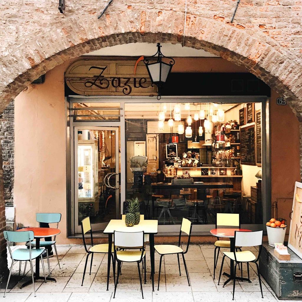Ferrara in un giorno: Zazie bar