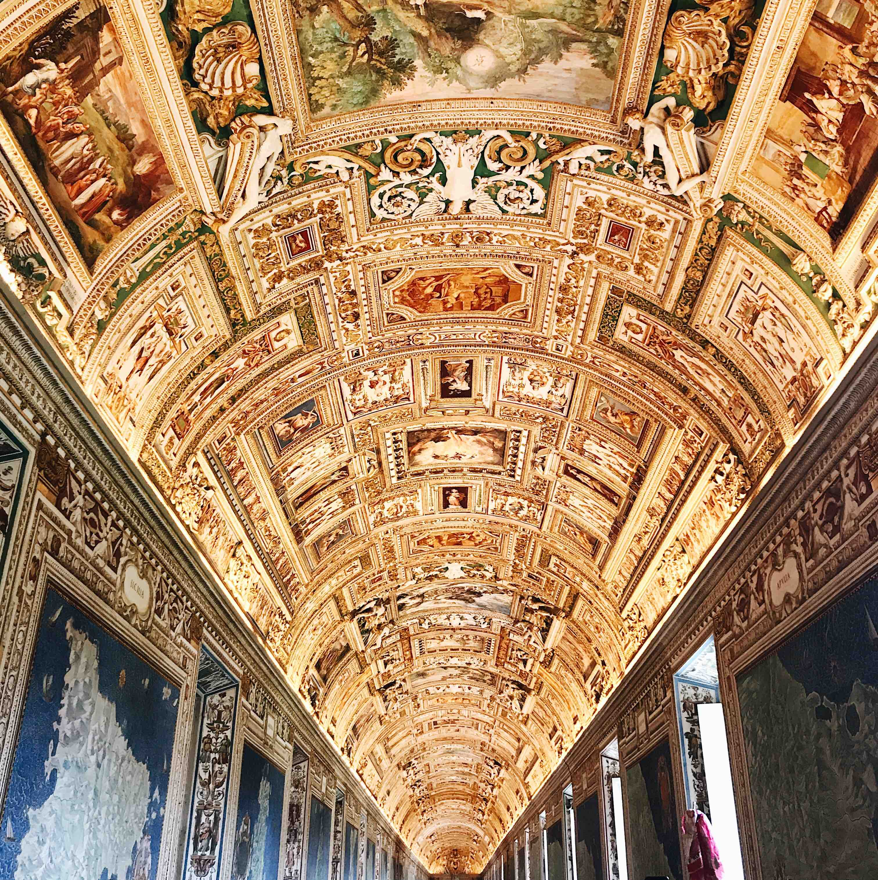 Visiting the Vatican Museum: Gallery of the Geographical Maps