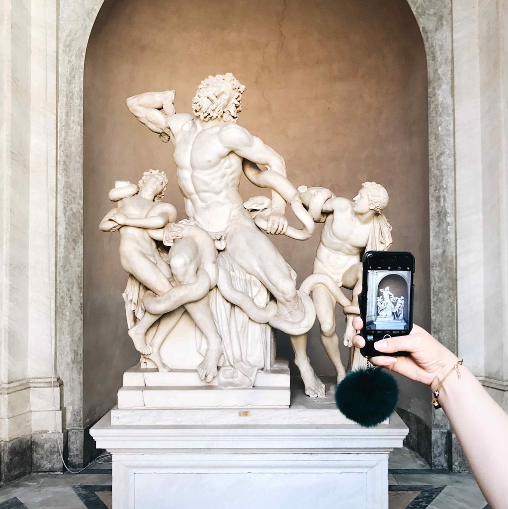 Visita ai Musei Vaticani: scultura del Laocoonte