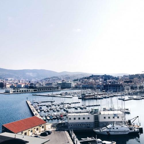 La Lanterna di Trieste: panorama dall'alto