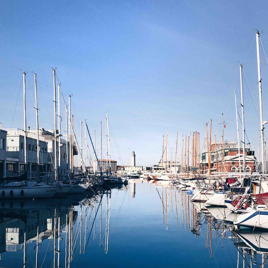 La Lanterna di Trieste:i faro visto da lontano