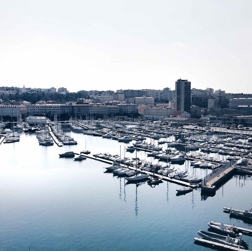 La Lanterna di Trieste: vista dalla cima del faro