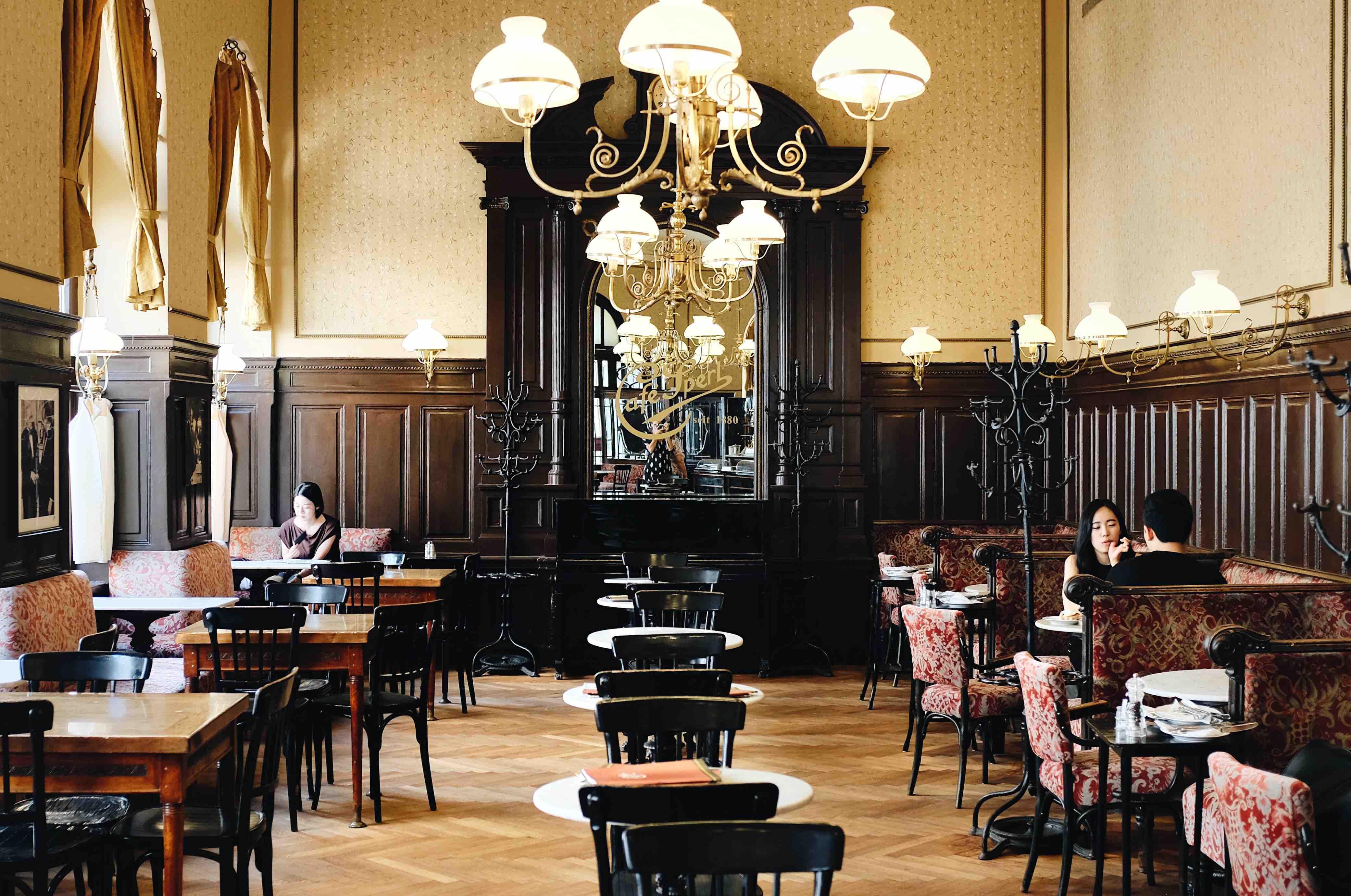 Una settimana a Vienna: Café Sperl