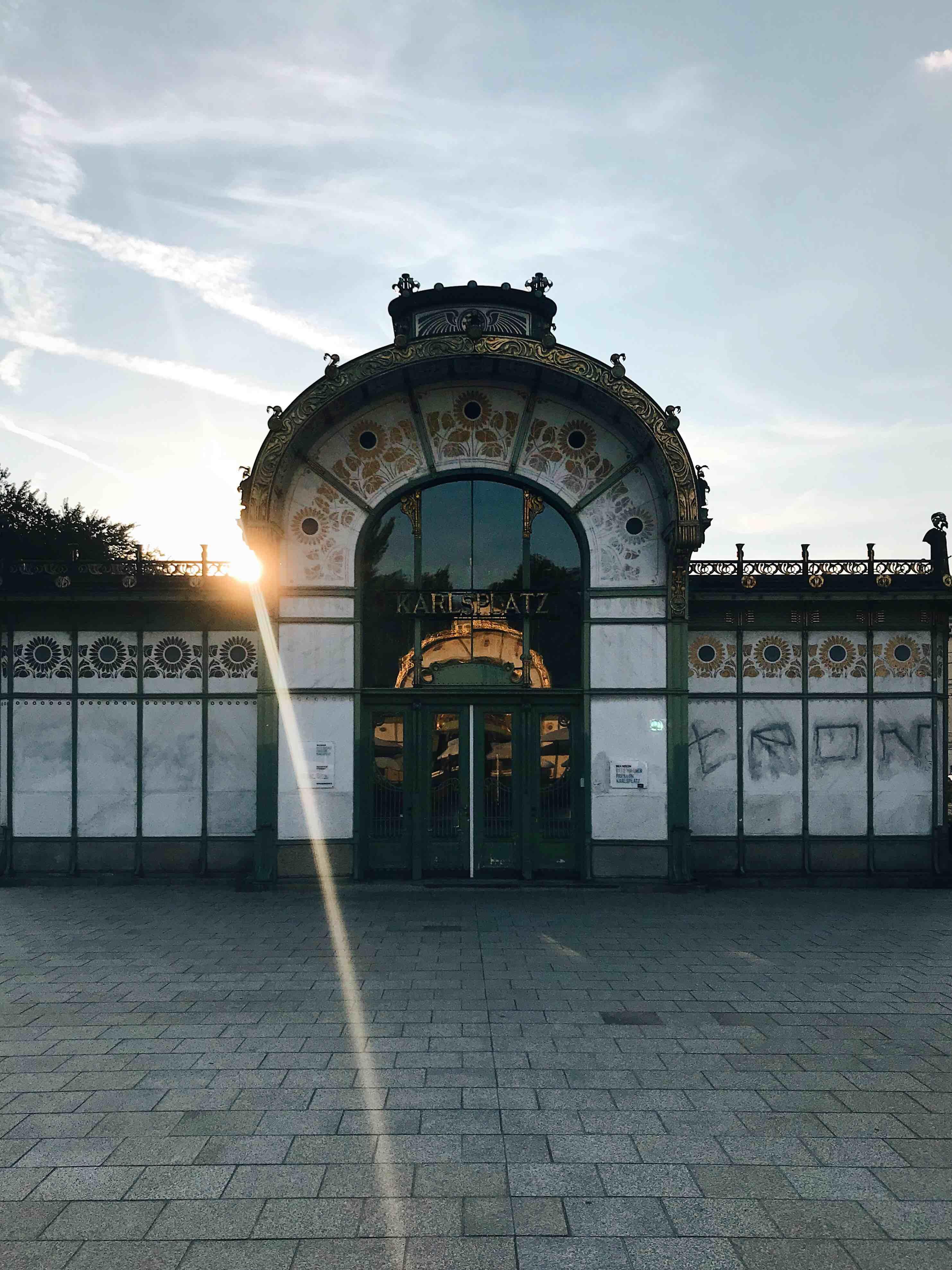 Una settimana a Vienna: Otto Wagner Pavillon