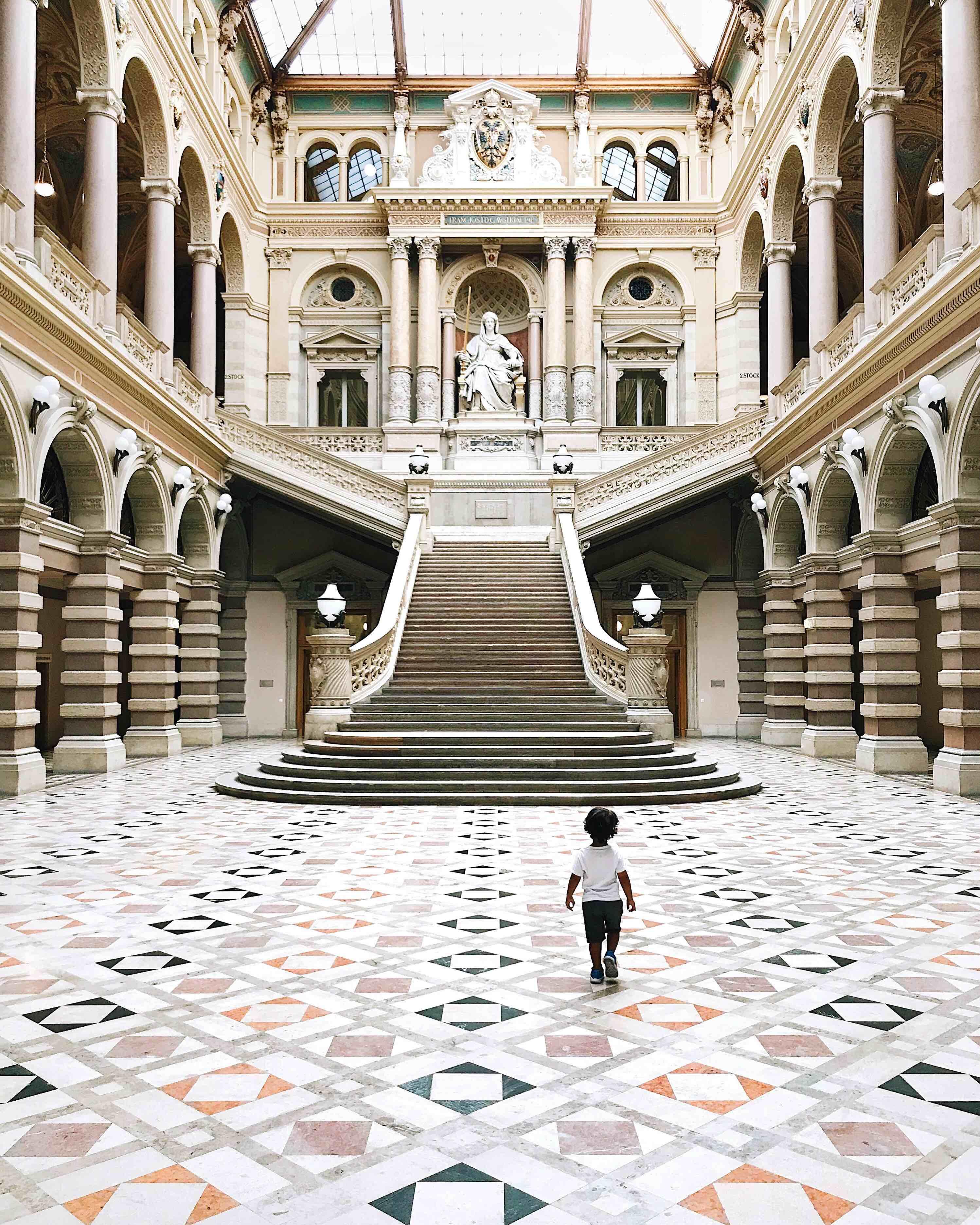 Una settimana a Vienna: Palazzo di Giustizia
