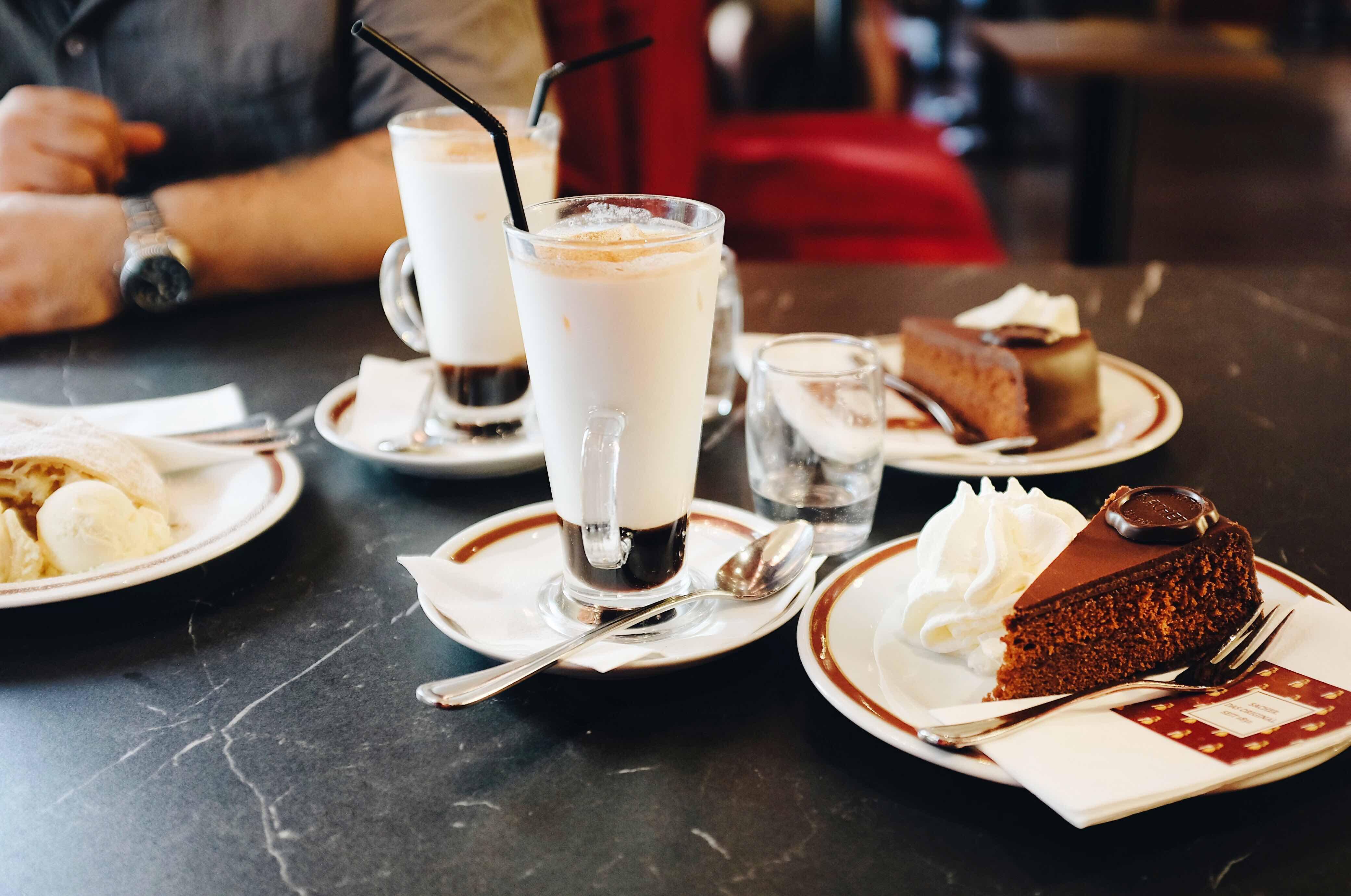 Una settimana a Vienna: Café Sacher