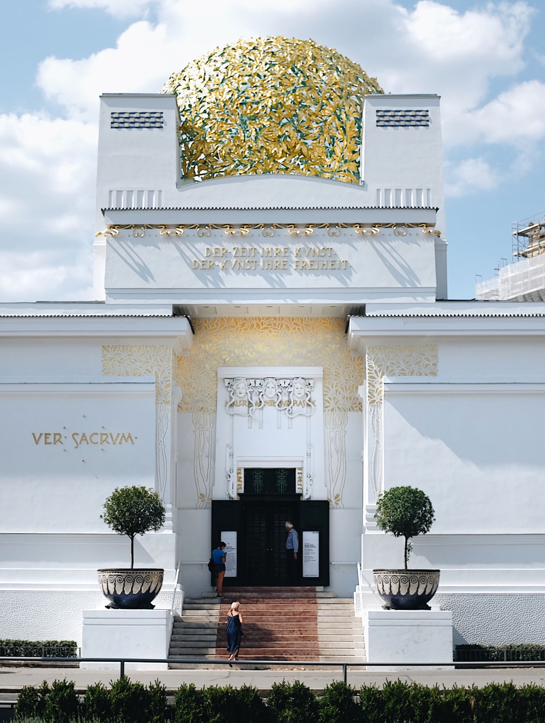 Una settimana a Vienna: Palazzo della Secessione