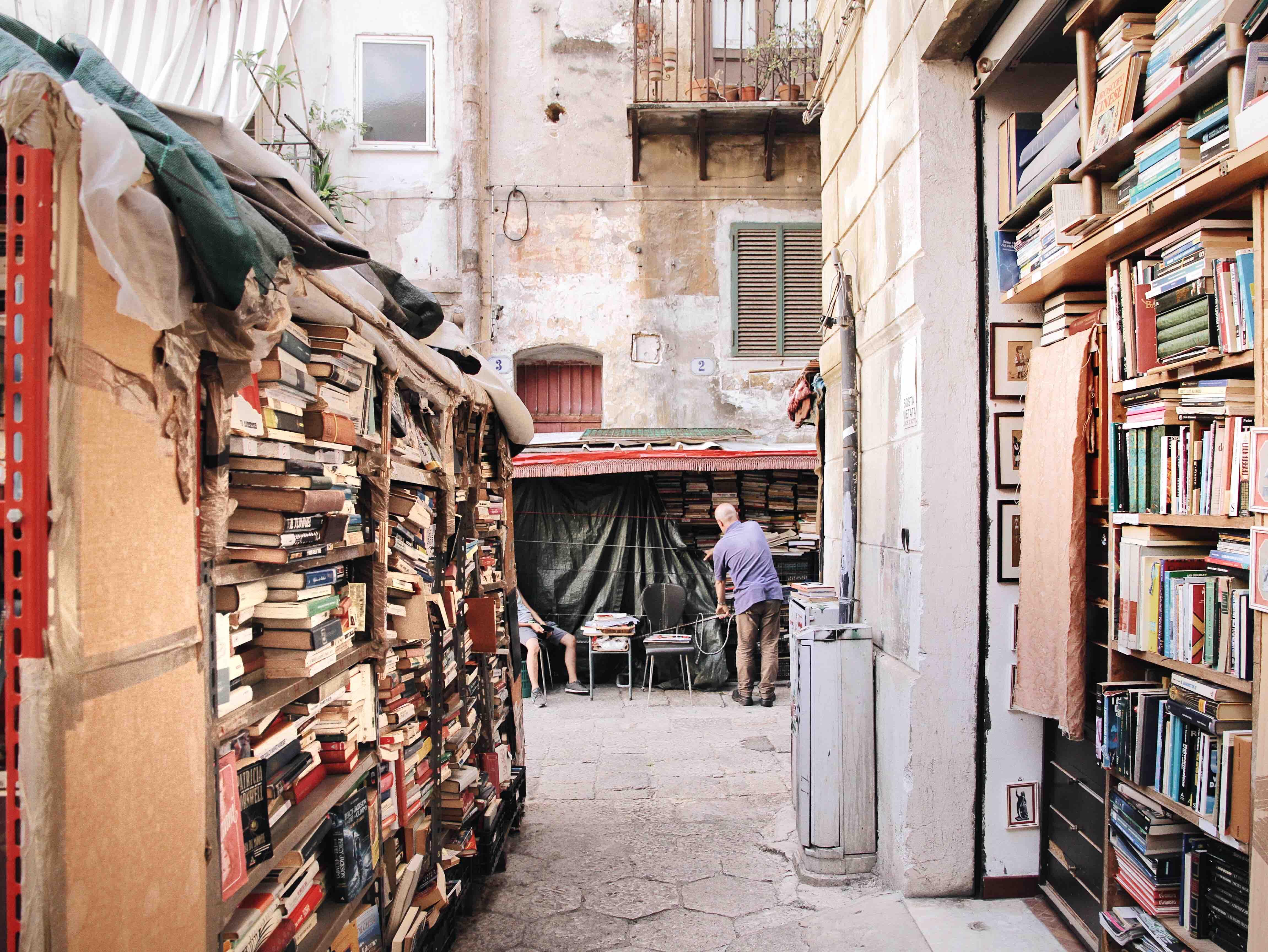 Cose da vedere a Palermo: biblioteca Tremonte