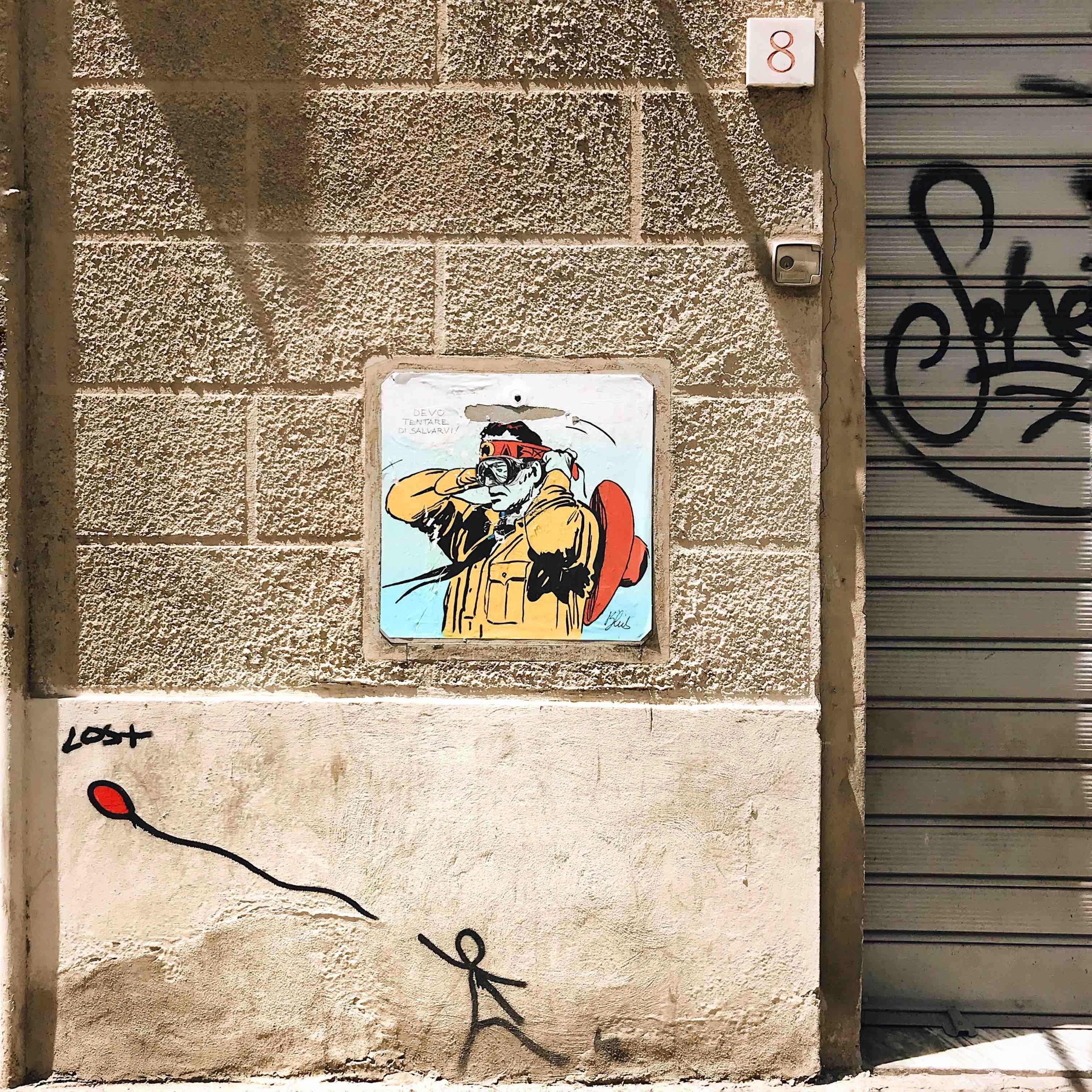 Street art a Firenze: Exit Enter e Blub